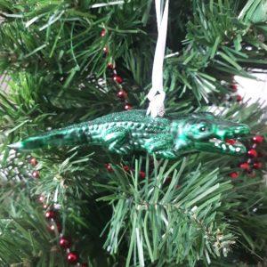 Crocodile Alligator Handmade Christmas Tree Decoration