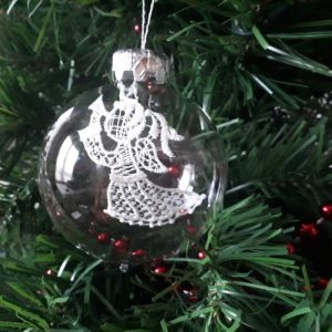 Angel Glass Bauble