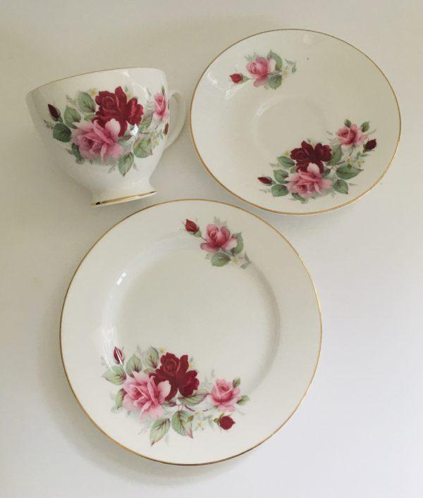 Teacup Candle - Pink Floral Royal Grafton Fine Bone China - 3D5C8AE6 348B 4813 98E5 8861D1CB702A