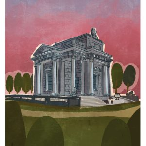 The Casino at Marino Art Print