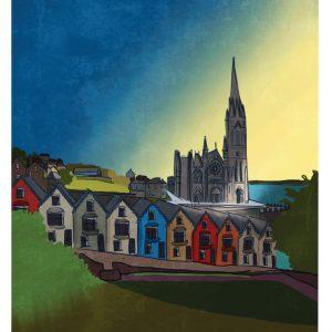 Cobh Cork Art Print