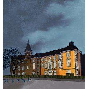 Crawford Gallery Cork Art print