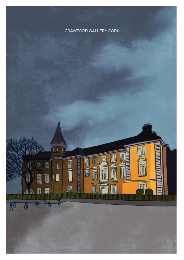 Crawford Gallery Cork Art print
