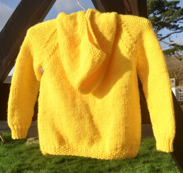 Good Morning Sunshine, Knitted Hooded Jacket - DSC 0871