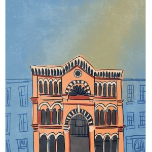 English Market Cork Art Print