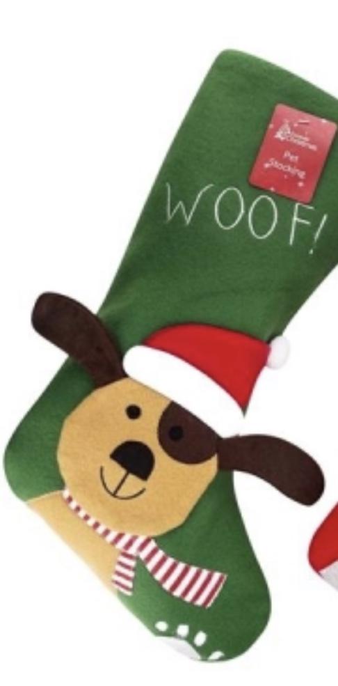 Personalised Christmas Dog Santa Sack