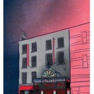 Olympia Theatre Dublin Art Print
