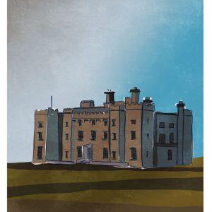 Slane Castle Meath Art Print