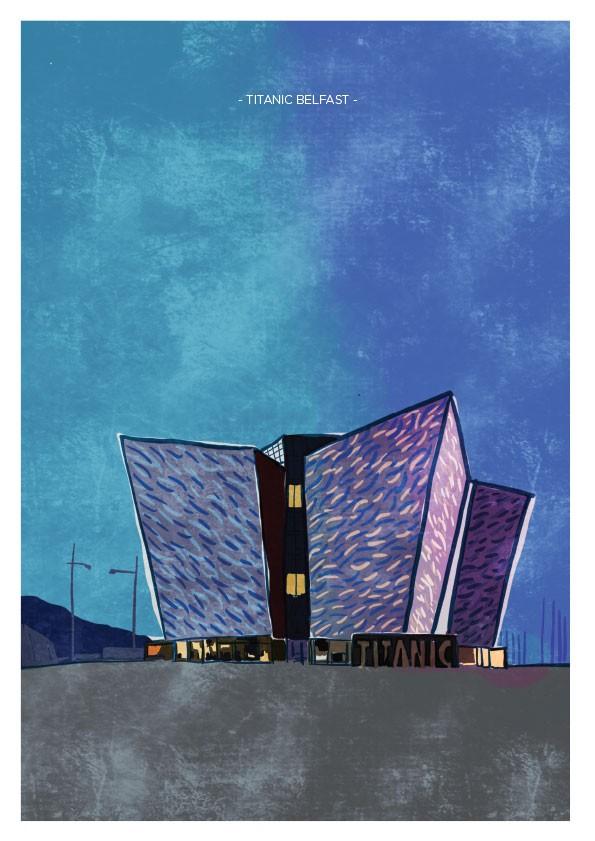 Titanic Exhibition Belfast Art Print