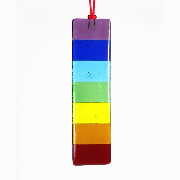 chakra rainbow bar suncatcher