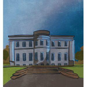 Lissadel House Sligo Art Print