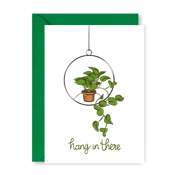 Hang In There Support Card - new hang in there 1