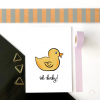 Oh Baby Duck Card