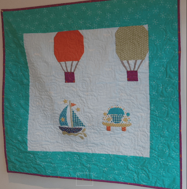 Fun Colourful Baby Quilt