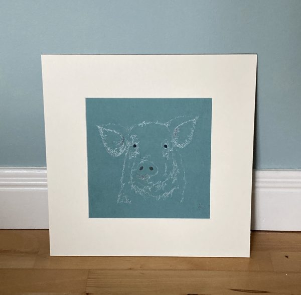 Embroidered Pig Wall Art - 00ABCF4A E37E 4D70 AB41 67E264E57178 1 201 a