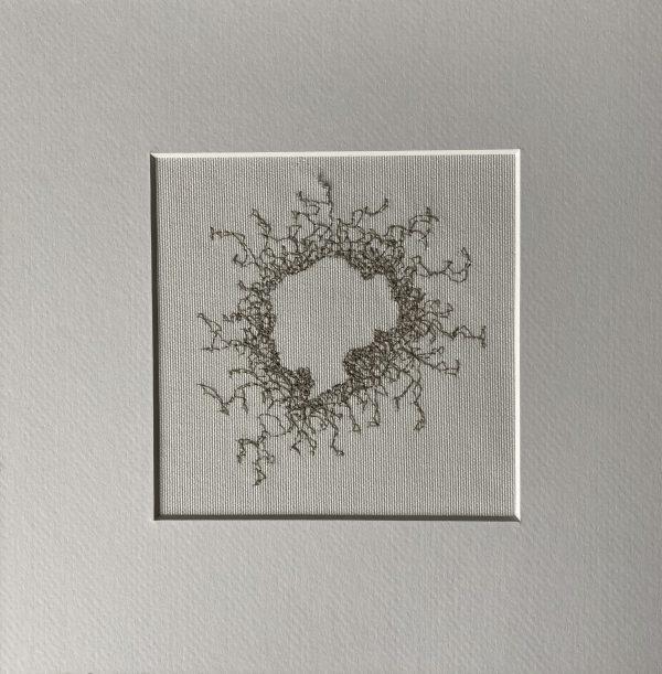 Silhouette Embroidery Wall Art (Grey) - 010C63AE 993B 4F9F A7AD E825BD134210 1 201 a