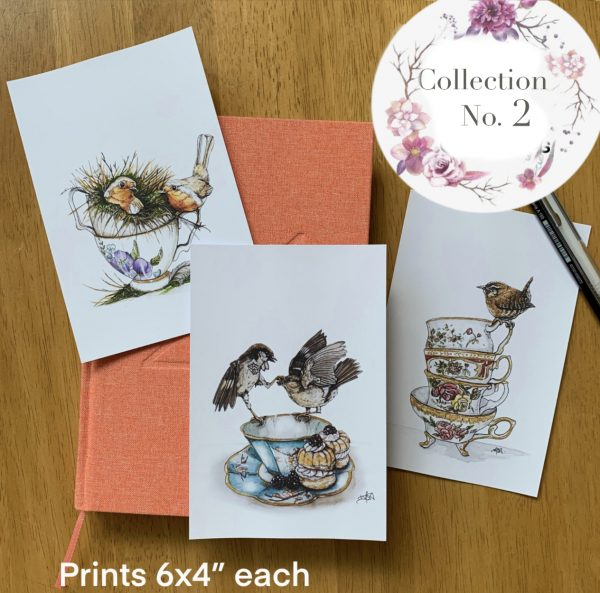 Teacup Mini Collection of Prints