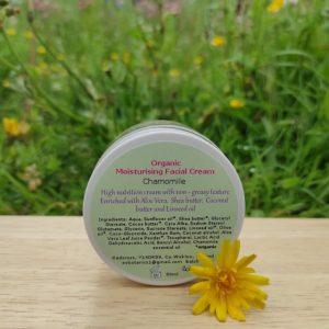Organic Chamomile Moisturising Cream