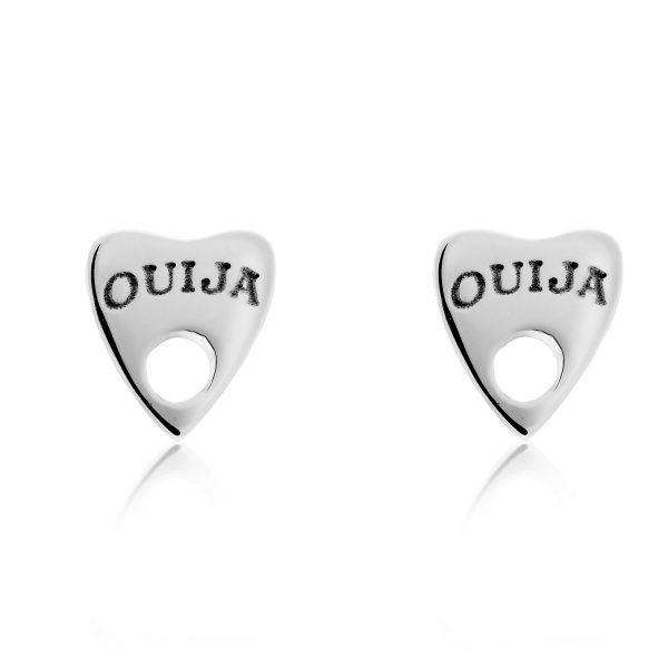 Ouija Earrings Sterling Silver