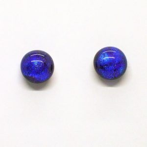 Fused-Glass Jewellery Stud Earrings - 201a