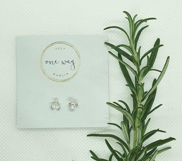 Bloom Flower 925 Silver Stud Earrings - 20210102 153155