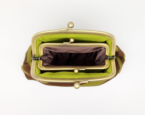 Brown Abstract Clutch Bag - 20210112 165526