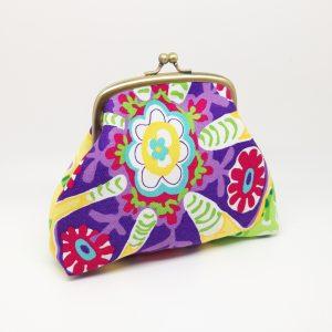 Tropical Flower Clutch Bag