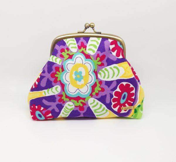 Tropical Flower Clutch Bag - 20210115 211827