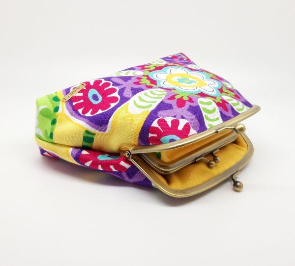 Tropical Flower Clutch Bag - 20210115 211918