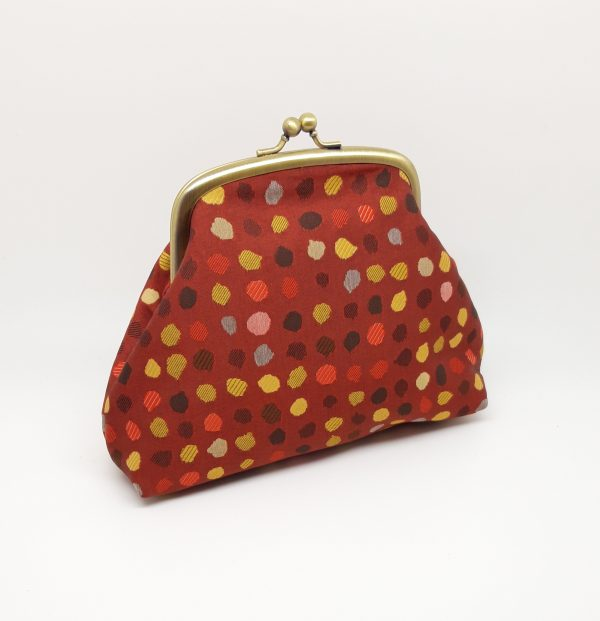 Red Polka Dot Clutch Bag - 20210120 103015