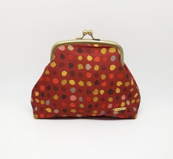 Red Polka Dot Clutch Bag - 20210120 103157