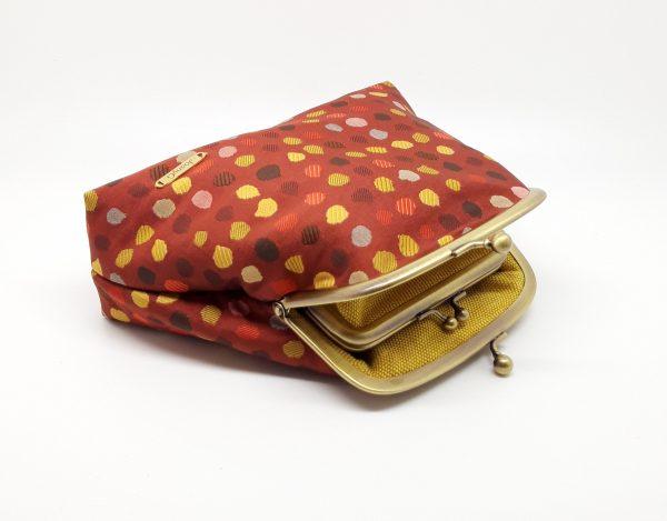 Red Polka Dot Clutch Bag - 20210120 103316