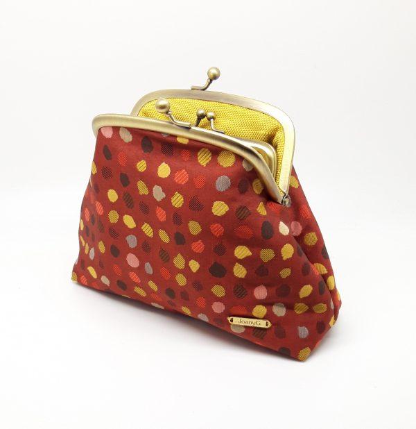 Red Polka Dot Clutch Bag