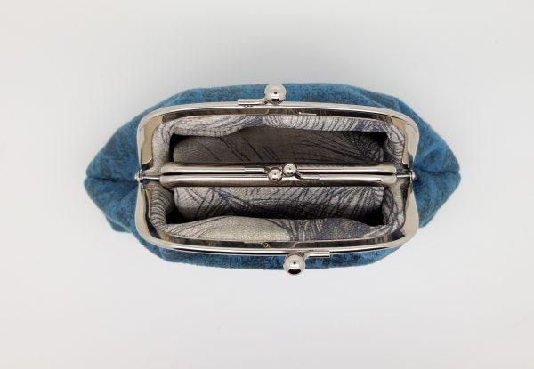 Blue Velvet Clutch Bag - 20210120 185736