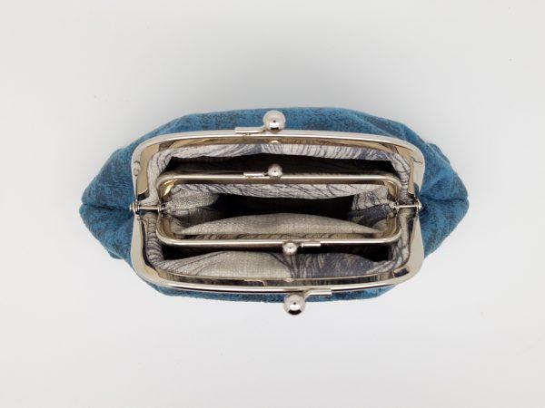 Blue Velvet Clutch Bag - 20210120 185801