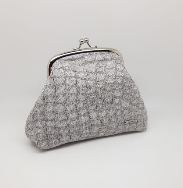 Faux Snake Skin Clutch Bag - 20210123 183817