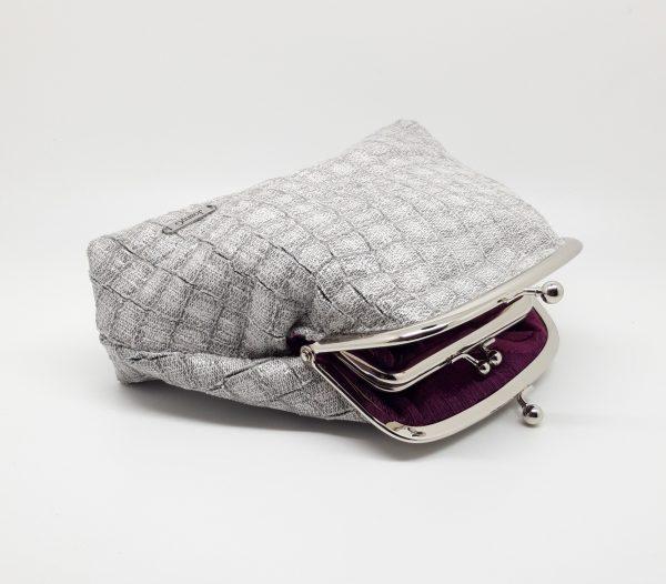 Faux Snake Skin Clutch Bag - 20210123 183915