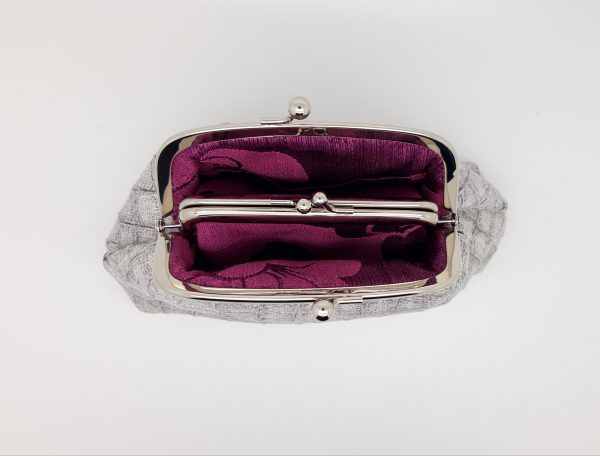 Faux Snake Skin Clutch Bag - 20210123 183958