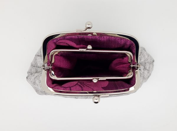Faux Snake Skin Clutch Bag - 20210123 184027