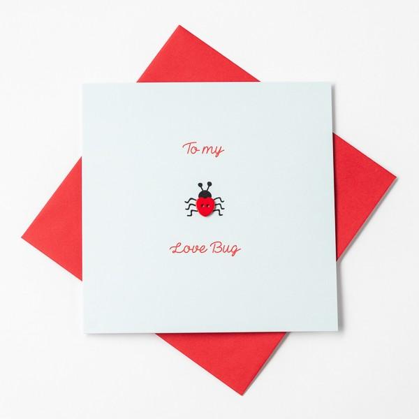Love Bug Greeting Card - 22