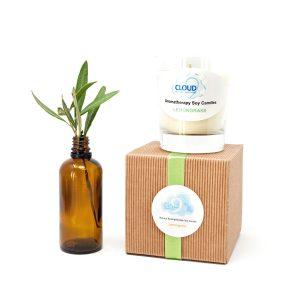 Lemongrass Aromatherapy Soy Candle