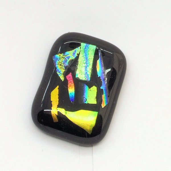Fused-Glass Jewellery Abstract Brooch - 312