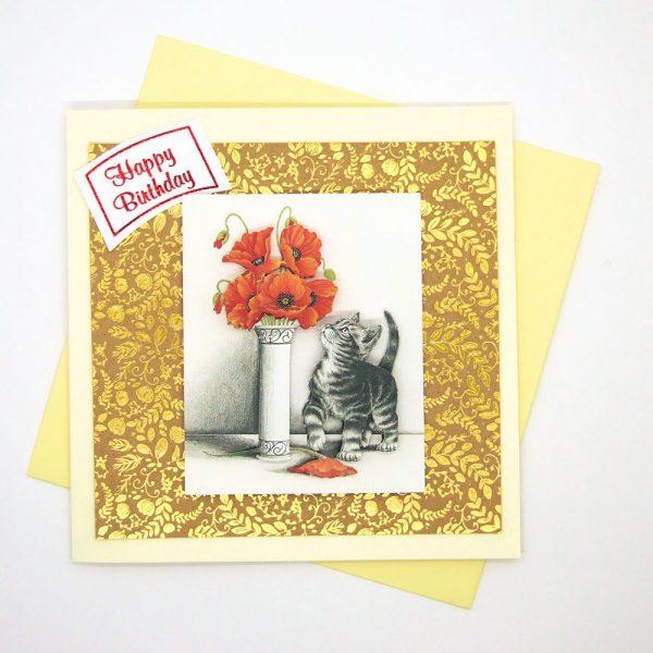 Handmade Birthday Card - 33c - 33d