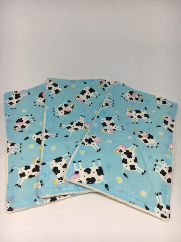 Reusable Wipes Large Cow