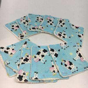 Reusable Wipes Cow