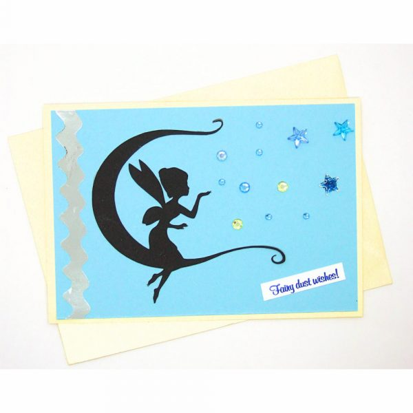 Handmade Best Wishes Card - 8c - 8c