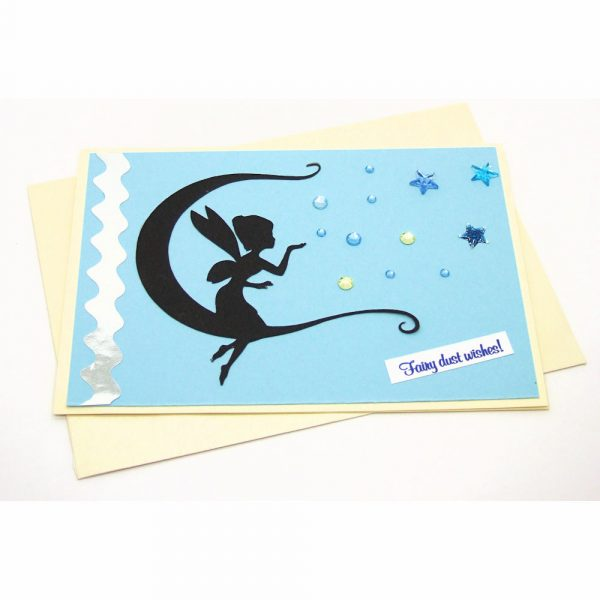 Handmade Best Wishes Card - 8c - 8d