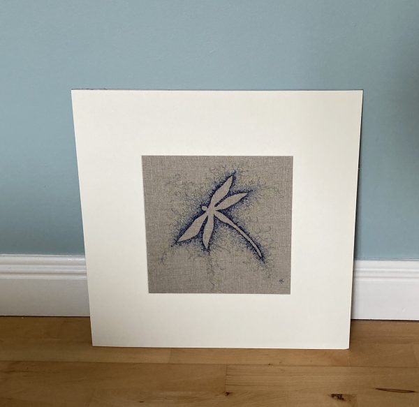 Embroidered Dragonfly Wall Art - 97F547F6 A4EE 43CF A3C3 19EDC0076377 1 201 a