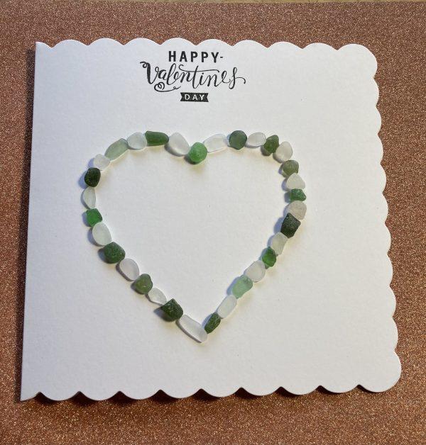Seaglass Valentines Card - A014CACD D55C 4EBC 8478 C9DE1963298B