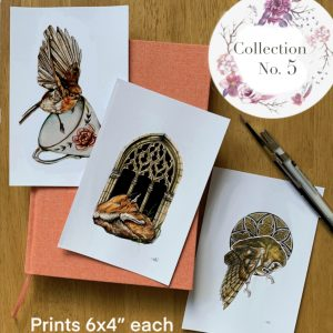 Ornate Mini Collection of Prints